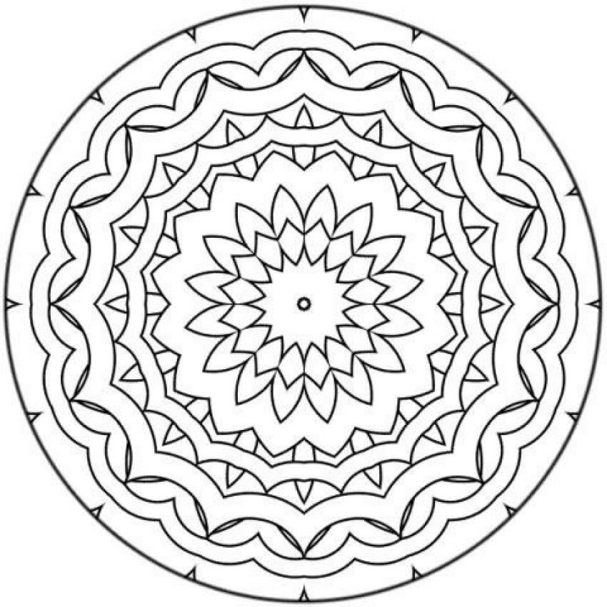 mazuras mandala coloring pages - photo#14